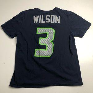 Nike Seattle Seahawks Russell Wilson Tshirt Medium